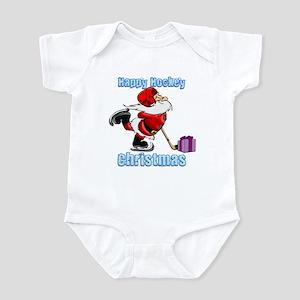 Hockey Christmas Infant Bodysuit