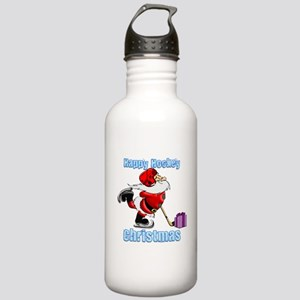 Hockey Christmas Stainless Water Bottle 1.0L