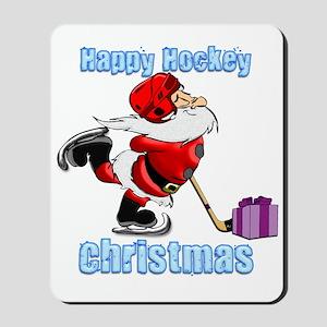 Hockey Christmas Mousepad