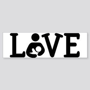 Breastfeeding Love Bumper Sticker