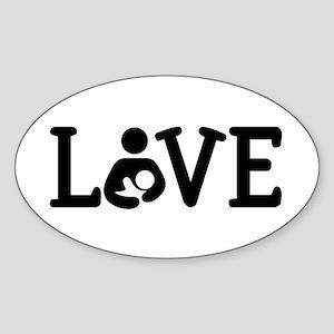 Breastfeeding Love Sticker