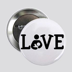 "Breastfeeding Love 2.25"" Button"