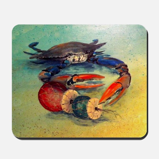 Beach Crab Mousepad