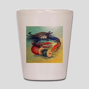 Beach Crab Shot Glass