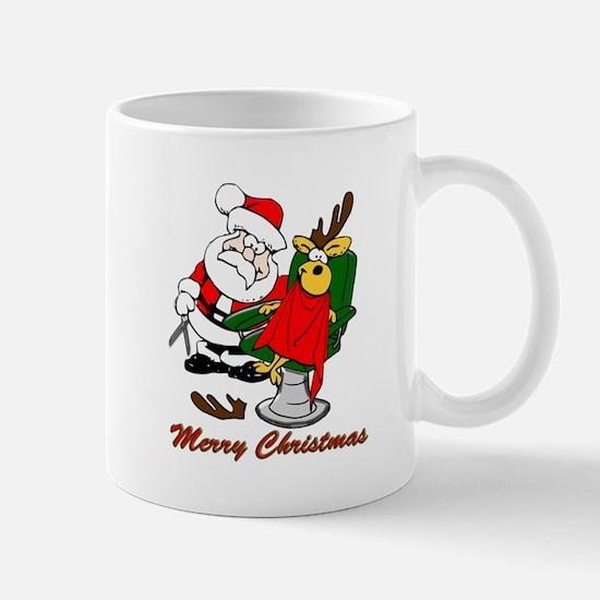 Christmas Hairdresser Mug