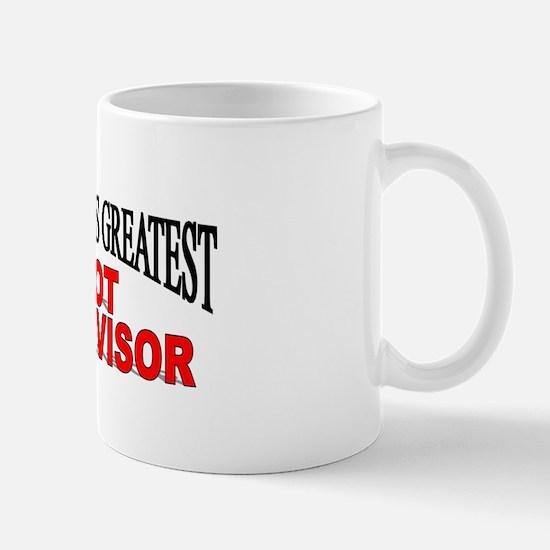 """The World's Greatest Slot Supervisor"" Mug"