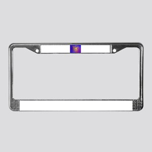 Golden Star License Plate Frame