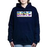 BARC Multi-shadow Women's Hooded Sweatshirt