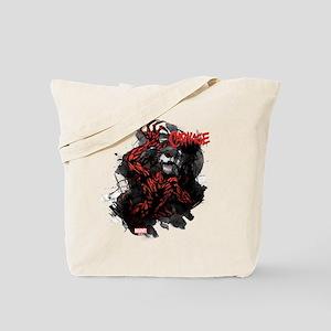 Grunge Carnage Tote Bag