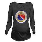 USS DARTER Long Sleeve Maternity T-Shirt