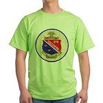 USS DARTER Green T-Shirt