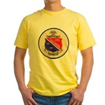 USS DARTER Yellow T-Shirt