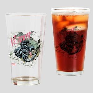 Pink Venom Drinking Glass