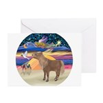 X-Star-Shetland Pony Greeting Cards (Pk of 20)
