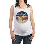 X-Star-Shetland Pony Maternity Tank Top