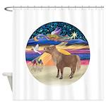 X-Star-Shetland Pony Shower Curtain