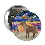 """X-Star-Shetland Pony 2.25"""" Button"""