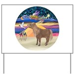 X-Star-Shetland Pony Yard Sign