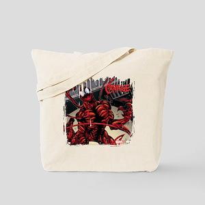 Carnage Panel Art Tote Bag