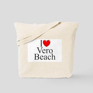 """I Love Vero Beach"" Tote Bag"