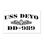 USS DEYO 20x12 Wall Decal