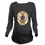 USS DEYO Long Sleeve Maternity T-Shirt