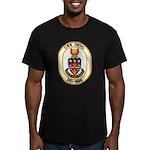 USS DEYO Men's Fitted T-Shirt (dark)