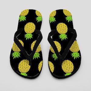 'Pineapples' Flip Flops