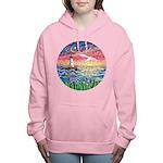 Lighthouse Seagull Women's Hooded Sweatshirt