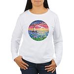 Lighthouse Seagull Women's Long Sleeve T-Shirt