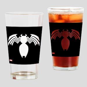 Venom Symbol Drinking Glass