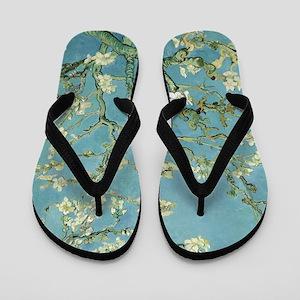 Van Gogh Almond blossom Flip Flops