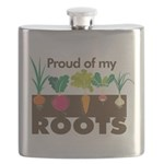 Proud of my Roots Flask
