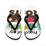 Proud of my Roots Flip Flops