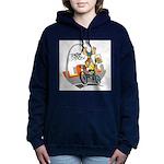 tour de moose Women's Hooded Sweatshirt