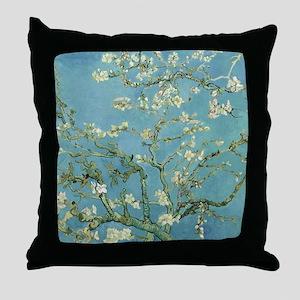 Van Gogh Almond blossom Throw Pillow