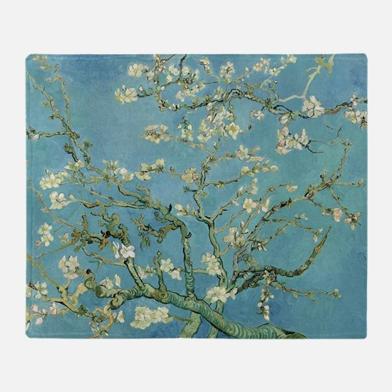 Van Gogh Almond blossom Throw Blanket