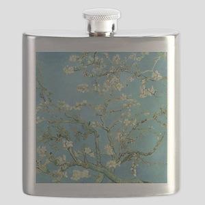 Van Gogh Almond blossom Flask
