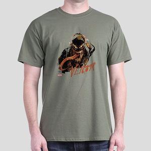 Abstract Venom Dark T-Shirt