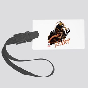 Abstract Venom Large Luggage Tag