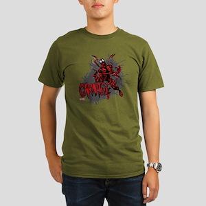 Carnage Organic Men's T-Shirt (dark)