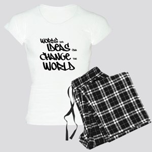 Words and Ideas Change the World Pajamas