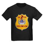 USS ENGLISH Kids Dark T-Shirt
