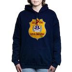 USS ENGLISH Women's Hooded Sweatshirt