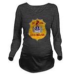 USS ENGLISH Long Sleeve Maternity T-Shirt