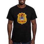 USS ENGLISH Men's Fitted T-Shirt (dark)