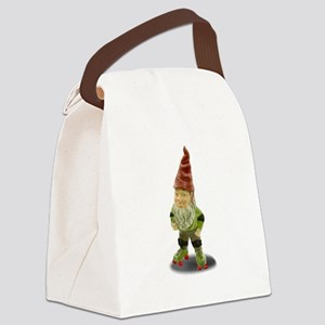 The Rolling Gnome Canvas Lunch Bag