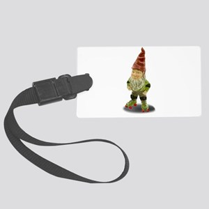 The Rolling Gnome Large Luggage Tag