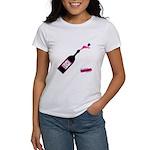 New Nqc Champagne Pop Logo White T-Shirt