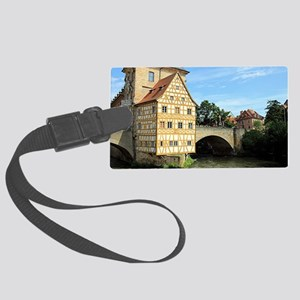 Old Town Hall, Bamberg, Germany, Large Luggage Tag